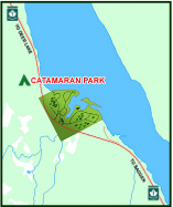 Catamaran Park Highway Location