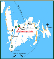 Catamaran Park - Newfoundland Map